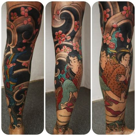 japanese leg tattoo designs leg tattoos designs pictures page 8