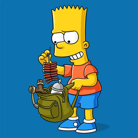 K Simpsons by Bart Simpsons World On Fxx