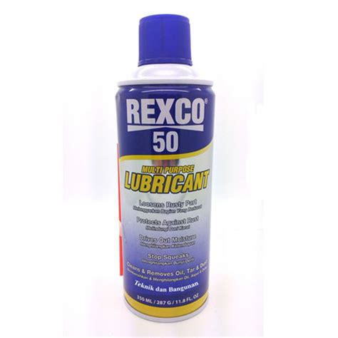 Pelumas Lubrican jual pelumas anti karat rexco lubricant 50 220 ml 180 g