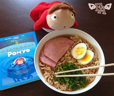 film ramen ramen soup w ham from quot ponyo quot food film pinterest