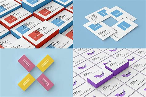 business card template psd isometric 30 fantastic psd business card mockup templates pixel curse