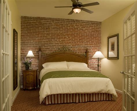 brick bedroom faux brick wall bedroom traditional with bedroom brick
