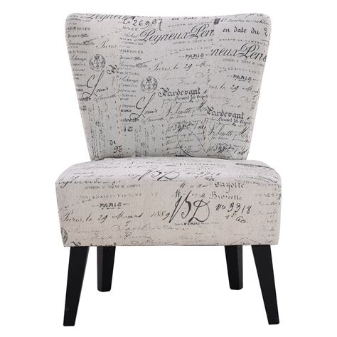 Armless Accent Chairs Living Room by Armless Accent Chair Upholstered Seat Dining Chair Living