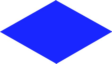 Rhombus Clipart rhombus shape clipart clip library