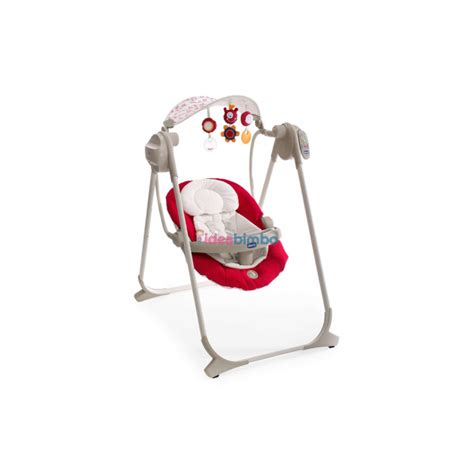 chicco polly swing chicco polly swing up altalena per neonati colore rosso