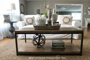 sofa table decorating ideas coffee table styling modern rustic style pinterest