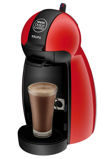 coffee machine dolce gusto pod piccolo krups kp red