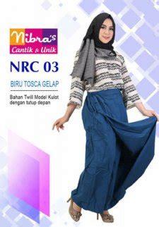 Setelan Kulot Salem Nibras Nks01 rok celana nibras nrc 03 biru toska model kulot