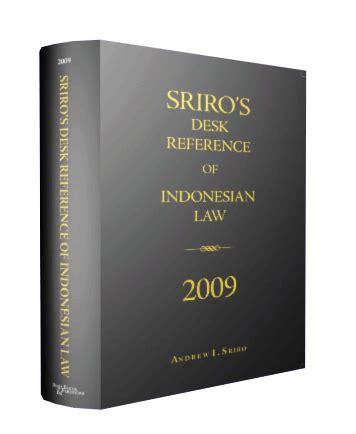 Buku Novel Kumpulan Kriminal sriro s desk reference of 2009 inibuku
