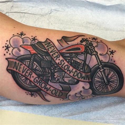 biker u0026 harley davidson tattoos 25 best ideas about motorcycle tattoos on