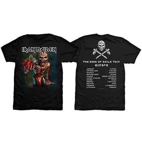 Iron Maiden European Tour Tees iron maiden s premium the book of souls european