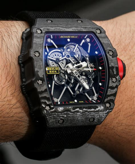 Richard Mille Rm035 Rafael Nadal Black richard mille rm 35 01 rafael nadal ntpt carbon on page 2 of 2 ablogtowatch