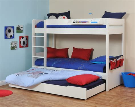 Stompa Bunk Beds Stompa Uno V 229 Ningss 228 Ng Med Utdragbar L 229 Da Barnens Sovrum Bedrooms Carpentry And