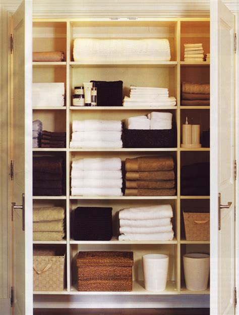 Linen Closet by Top Organization Tricks To Boost Small Bathroom Space