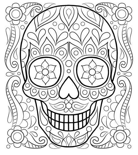 imagenes de calaveras bonitas para colorear calaveras mexicanas para colorear dibujos de
