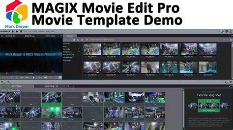 magix edit pro templates magix edit pro template demo