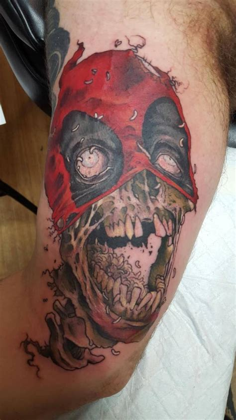 deadpool tattoos truetattoos