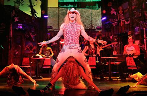 rock  ages  brooks atkinson theater  york ny