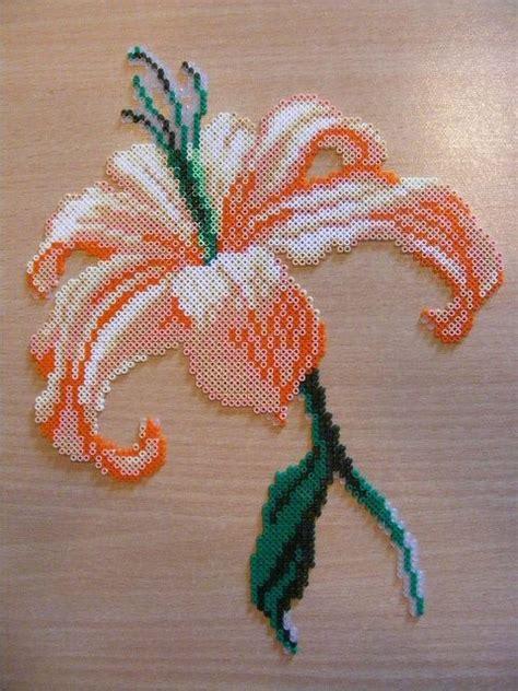 flower perler flower perler the best of perler hamma bead designs