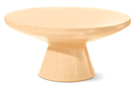 Ceramic Pedestal Table Base suitable for outdoor use