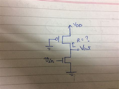 i am pseudo books mosfet pseudo nmos inverter electrical engineering