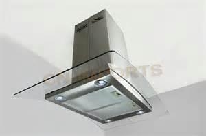 30 quot island mount stainless steel range kitchen fan
