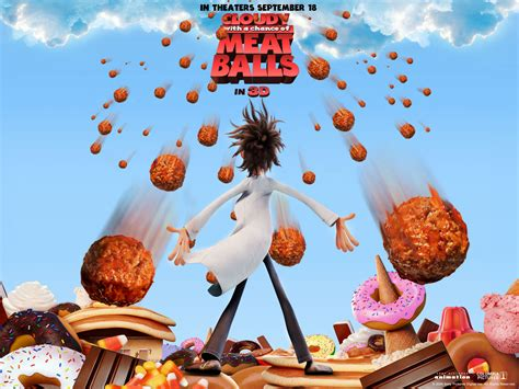 film cartoon food animated film reviews cloudy with a chance of meatballs