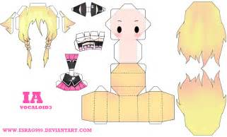 Vocaloid Papercraft - ia papercraft by esrag999 on deviantart paper craft
