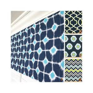 blue window valance blue window valance navy curtain valance aqua by