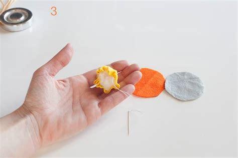 fiori di feltro come fare come fare i fiori di feltro progetto di apple lace