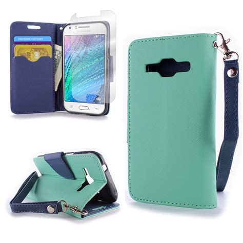 Flip Cover Samsung J1 Auto Lock wallet pouch flip stand phone cover for samsung galaxy j1 verizon j100 ebay