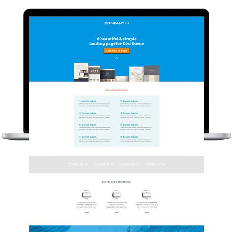 Smart Divi Landing Page Template Worth It Media Divi Landing Page Template