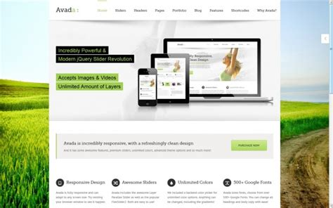 theme avada wordpress free 75 greatest wordpress themes themes4wp