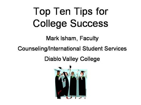 Dvc Tour Gift Card - top 10 tips for college success at dvc authorstream