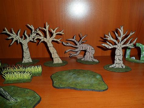 Papercraft Tree - papercraft trees for diorama free templates