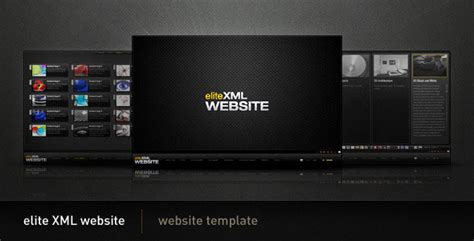 xsl templates activeden elite xml website flash activeden