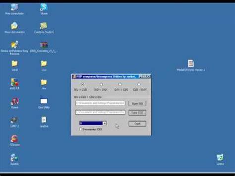 game for psp format iso tutorial converter games de psp de iso para cso youtube