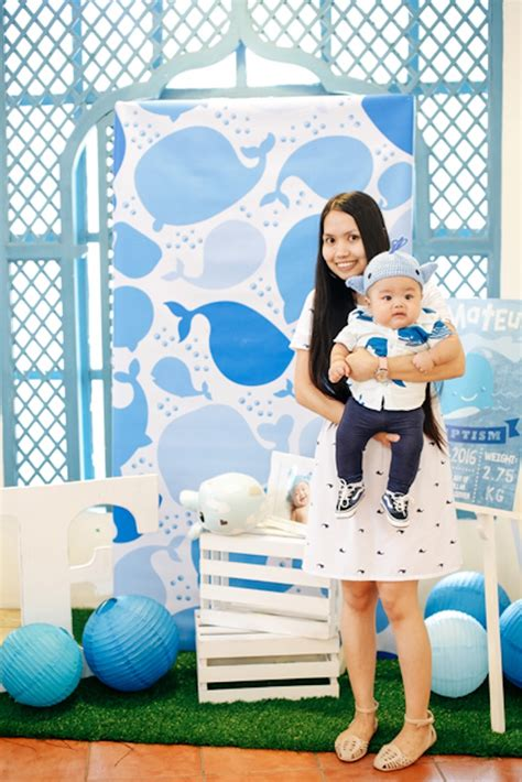 Kitchen Color kara s party ideas whale themed baptism birthday party