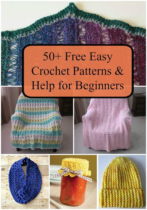 easy things to knit for beginners 50 free easy crochet patterns and help for beginners