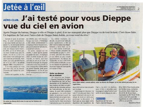 article information article infos dieppoises