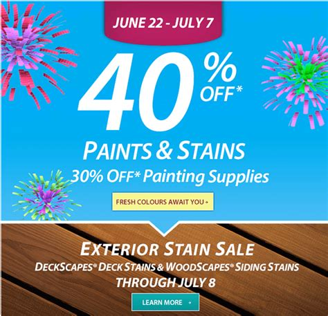 Sherwin Williams Gift Cards For Sale - sherwin williams save 40 off on a variety of paints and stains canadian freebies