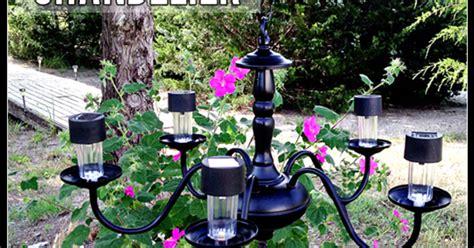 solar chandelier solar powered chandelier hometalk