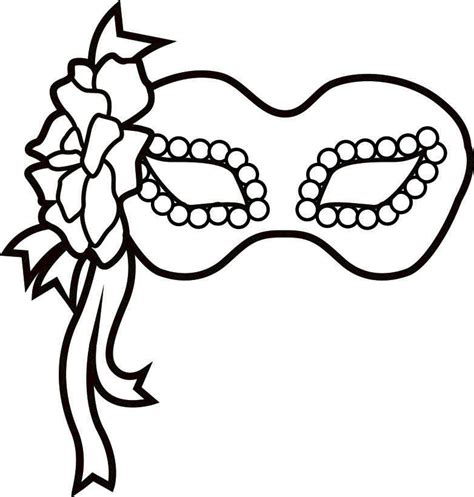 mask coloring pages to and print for free