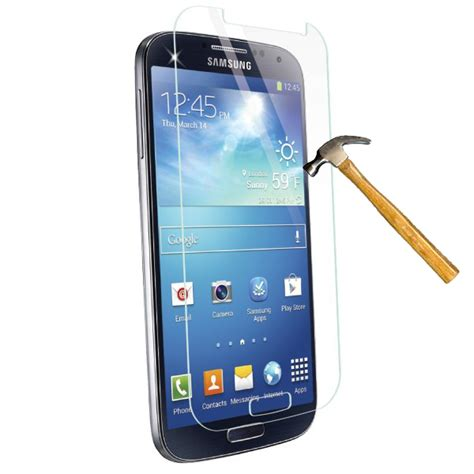 Tempered Glass High Quality For Samsung S4 Malang samsung galaxy s4 tempered glass screen protector kit