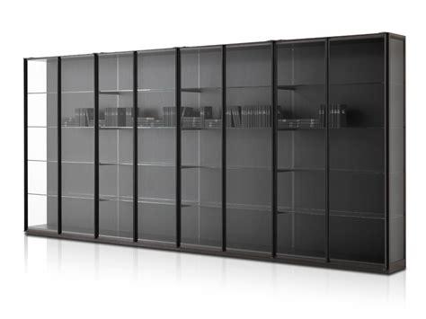 libreria cristallo libreria in cristallo ex libris by porro design piero lissoni