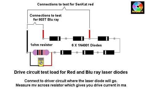 laser diode polarity test need help setting the current with lm317 laser pointers