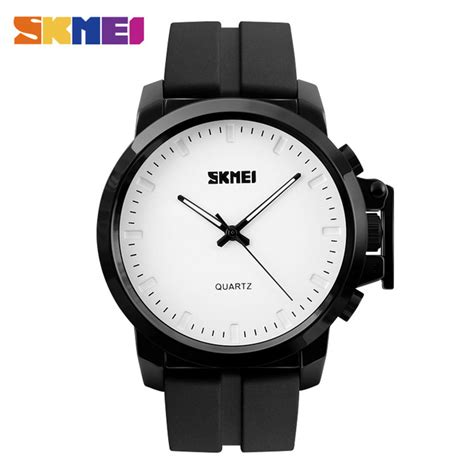 Skmei Jam Tangan Analog Pria 9133c White Discount skmei jam tangan analog pria silicone 1208 white jakartanotebook