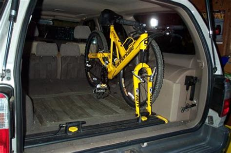 Inside Suv Bike Rack by Interior Bike Rack Yotatech Forums