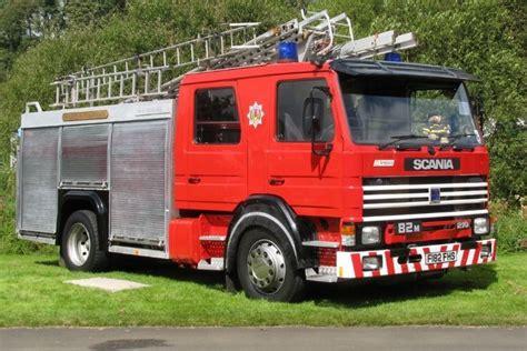 fire engines  strathclyde fire brigade  fhs scania