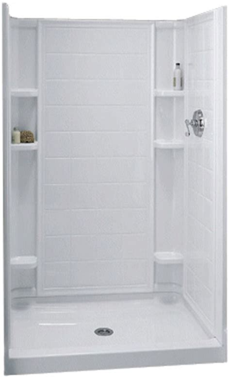 Kohler Sterling Shower by Sterling Kohler 72131100 0 White Ensemble Series Tile